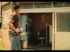 ミュージックビデオロケ地、コインランドリー、初恋の嵐「真夏の夜の事」