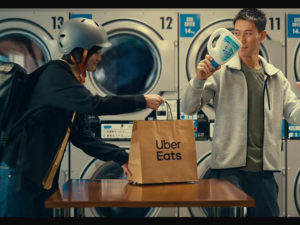 フードデリバリーサービス「Uber Eats」のTVCM
