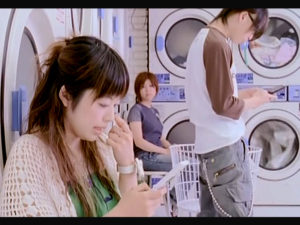 コインランドリーが登場するPV/ムラマサ☆「銀色の月」